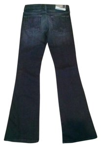 7 For All Mankind New New With Tag A Pocket Flare Leg Jeans-Dark Rinse