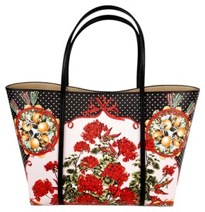 Dolce&Gabbana Tote in Black/Multi