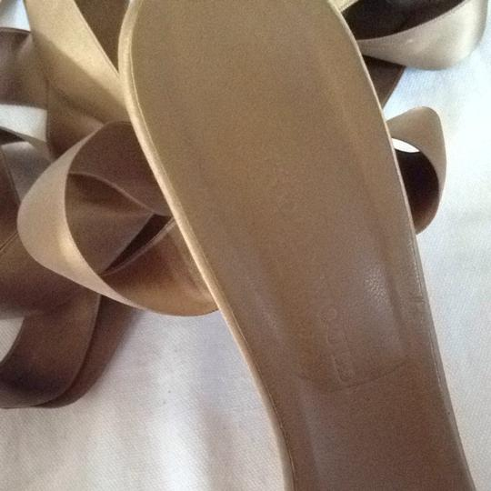 Hollywould Taupe Satin Ribbon Formal