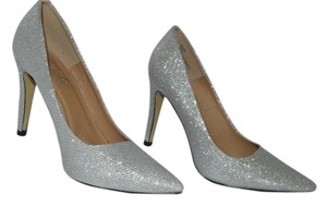 Diba Stiletto Sparkle Heels Silver Pumps