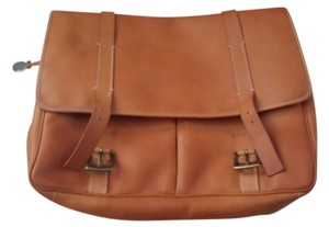 Dooney & Bourke Leather Saddle Messenger Bag