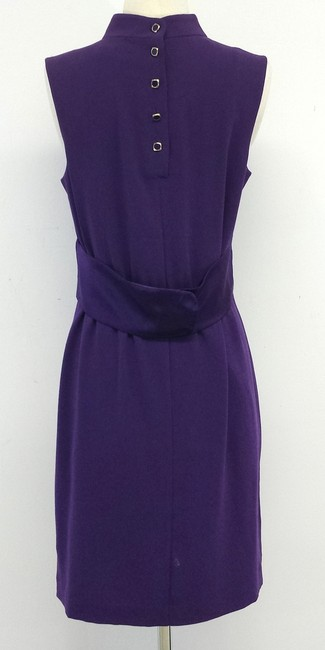 Trina Turk short dress Purple Sleeveless on Tradesy