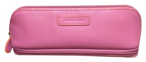 Baekgaard Baekgaard Pink Leather Cosmetic Bag