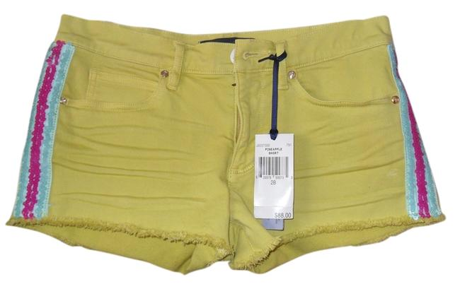 Preload https://img-static.tradesy.com/item/996943/juicy-couture-yellow-jg007332-pineapple-minishort-shorts-size-6-s-28-0-0-650-650.jpg