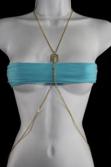 Preload https://item5.tradesy.com/images/women-gold-metal-body-thin-chain-fashion-jewelry-harness-scorpion-charm-necklace-9970774-0-0.jpg?width=440&height=440