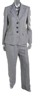 Le Suit LE SUIT NEW Womens Gray Flat Front Long Sleeves 2PC Pant Suit Plus 18. Ships in one day.
