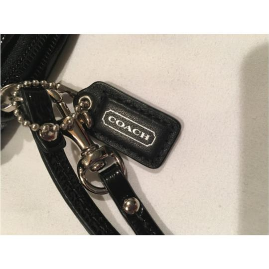 Coach Barely Used Looks New Wristlet in Black
