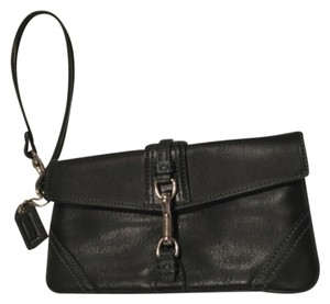 Coach Gently Used Looks New Wristlet in Black