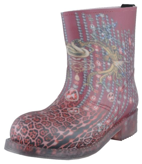 Just Cavalli Multi-color Women's Rainboots Ankle Boots/Booties Size US 9 Regular (M, B) Just Cavalli Multi-color Women's Rainboots Ankle Boots/Booties Size US 9 Regular (M, B) Image 1