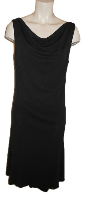 Preload https://item4.tradesy.com/images/express-black-with-turquoise-knit-cowl-neck-knee-length-night-out-dress-size-8-m-9971548-0-1.jpg?width=400&height=650