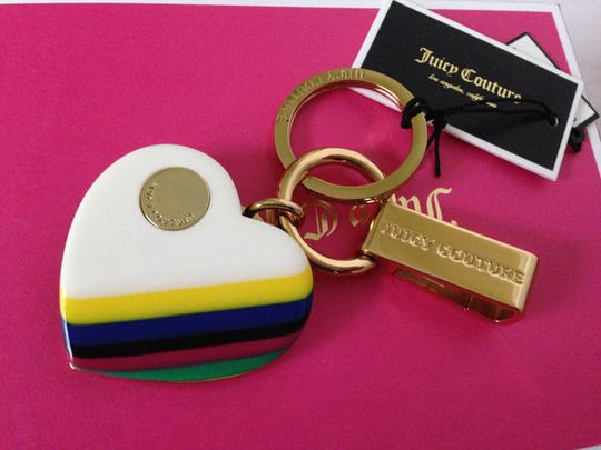 Juicy Couture Juicy Couture Keychain Keyfob Heart