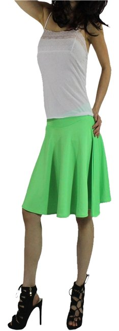 Other Mini Skirt Lime Green