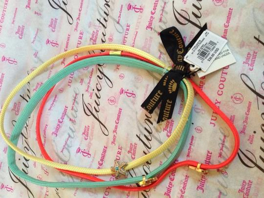 Juicy Couture Juicy Couture set of 3 Elastic Headbands