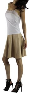Other Mini Skirt Beige