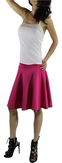 Other Mini Skirt Fuschia