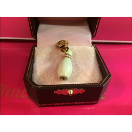 Juicy Couture NWT!! VERY RARE JUICY COUTURE UNIQUE PINK PAVE BOWLING PIN CHARM!!