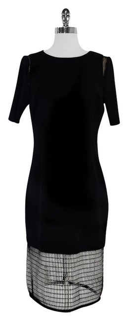 Preload https://item2.tradesy.com/images/elie-tahari-nora-black-cage-high-low-formal-dress-size-10-m-9975106-0-1.jpg?width=400&height=650