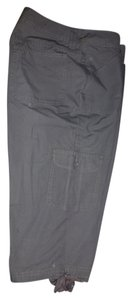 Riders by Lee Cargo Pants Capris Charcoal