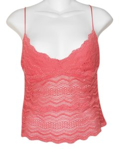 Cosabella Stre Stretchy Lace Top Tangerine