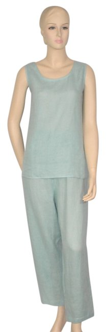 Preload https://img-static.tradesy.com/item/997623/saks-fifth-avenue-blue-linen-outfit-pant-suit-size-16-xl-plus-0x-0-0-650-650.jpg