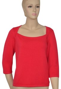 Nordstrom Watermelon Cotton Sweater