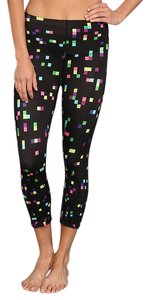 CW-X Stabilyx Multi Color Compression Black 3/4 Running Tights