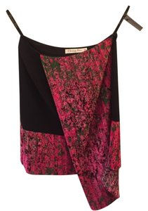 Dior Skirt Black with pink floral
