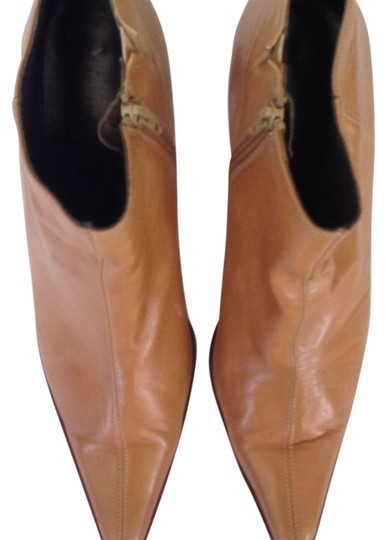 Kenneth Cole Vintage Tan Leather Boots