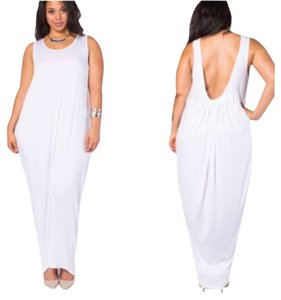 White Maxi Dress by Other