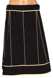 DKNY Skirt Beige / Black
