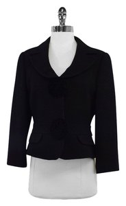 Emporio Armani Black Wool Jacket