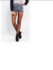 Silence + Noise & + Pinup Shorts Denim