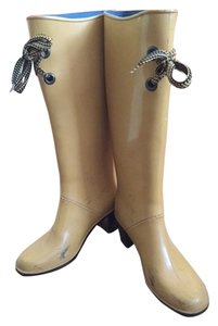 Marc Jacobs Rain Yellow Boots