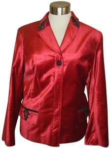 beliza woman RED W BLACK Blazer