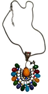 Other Peacock Pendant Necklace N120