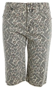 Zadig & Voltaire Dress Shorts Leopard