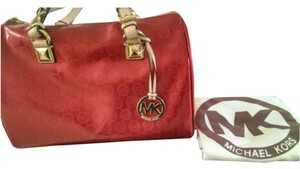 Michael Kors Satchel in Metallic