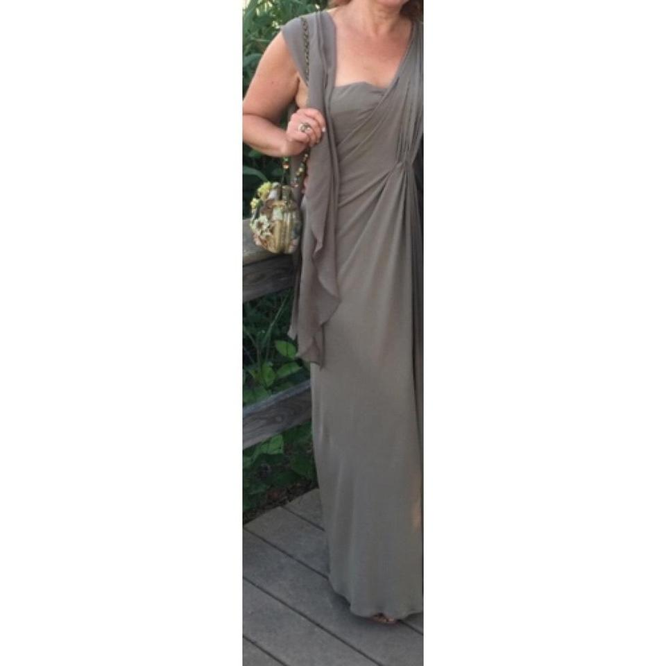 Michael Kors Olive Evening Gown Long Formal Dress Size 6 (S) - Tradesy