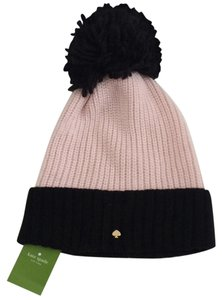 Kate Spade NWT Kate Spade New York Blocked Beanie/Hat with Pom on Top