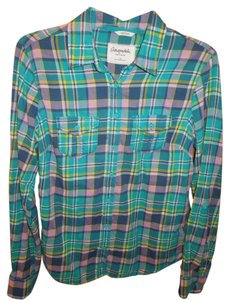 Aéropostale Top Green Pink Blue yellow