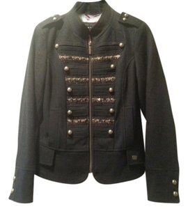Steve Madden Winter Coat Wool Coat Peacoat Military Brass Military Jacket