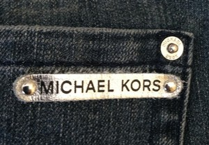 Michael Kors Flare Leg Jeans-Light Wash
