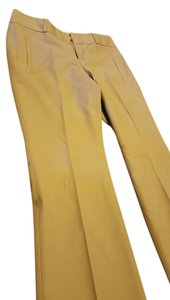 Banana Republic Martin Fit Taupe Stretch Tab Flare Pants Gray