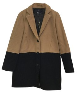 Madewell Wool Colorblock Trench Coat