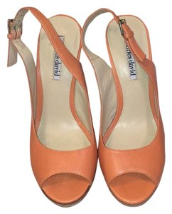 Charles David ORANGE Wedges