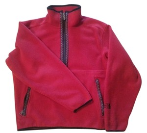 The North Face Ribbon Trim Dark Red Jacket