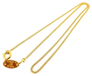 Chanel Auth CHANEL Necklace Necklace Chain Gold popular good