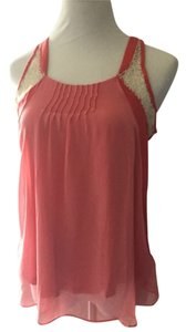 LC Lauren Conrad Top Coral/salmon
