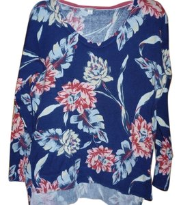 Gap Flowered 100% Cotton Sweater
