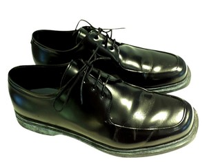 Prada Men Black Lace Up Shoes